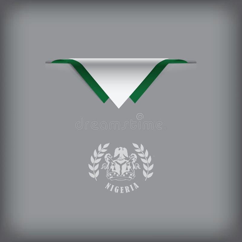Nigeria sign stock illustration