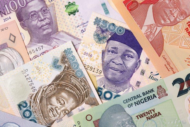 Nigerian money, a background royalty free stock photo