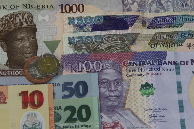 Nigerian Money stock photo. Image of country, account ...