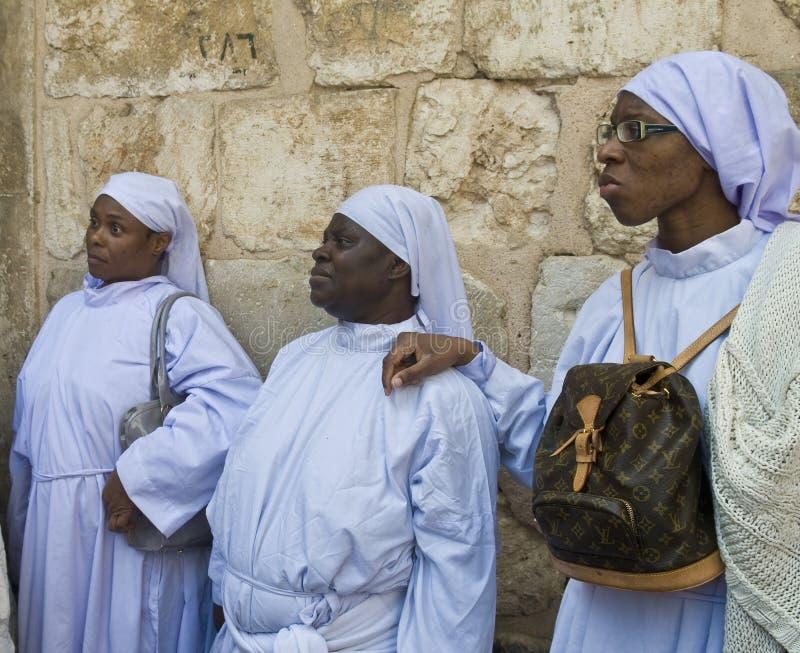 Nigerian Pilgrims Editorial Stock Photo