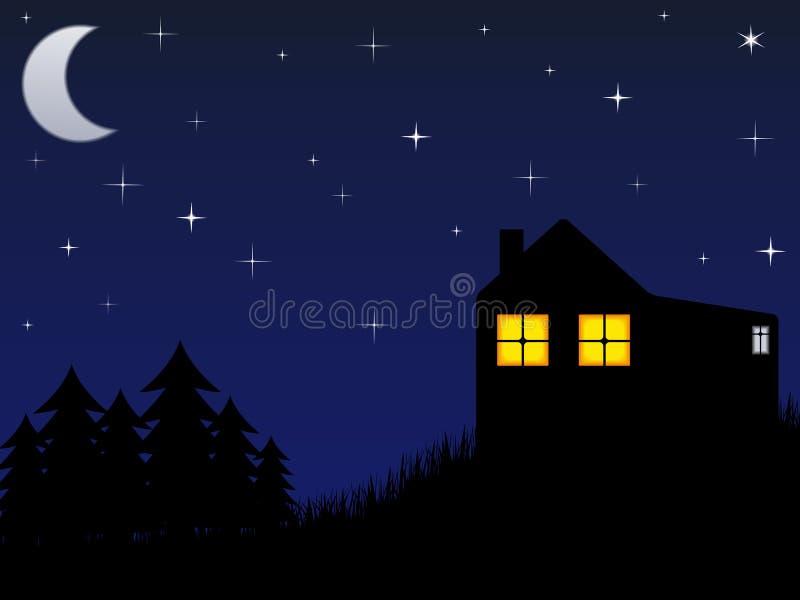 Download Night stock vector. Image of nebula, background, glitter - 22747654