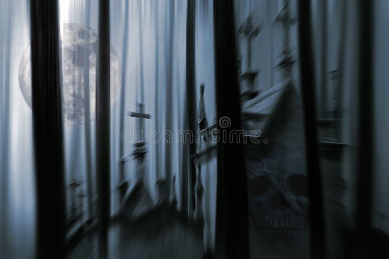 Night of all fears vector illustration