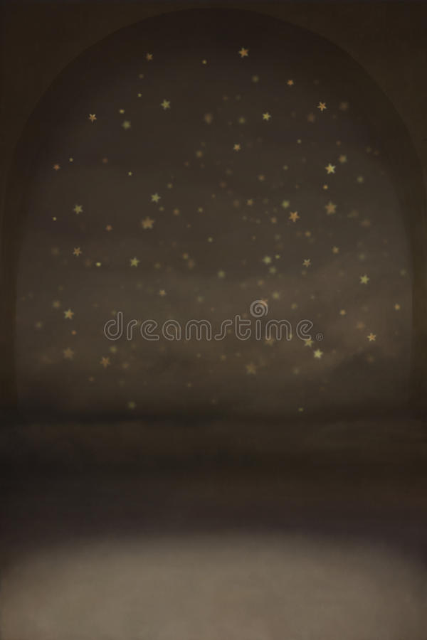 Night Background With Stars Stock Photography