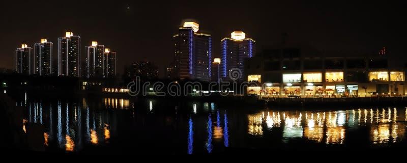 The  Night Of Beijing Royalty Free Stock Photos