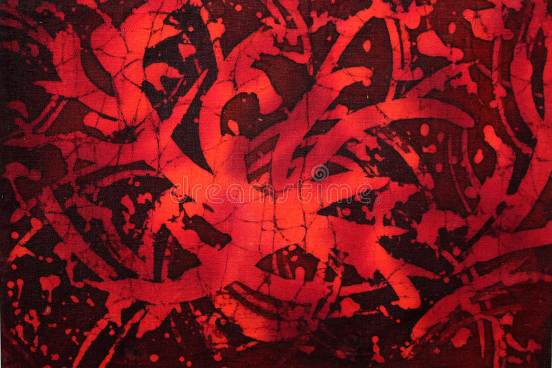 Night blood. Red colored abstract illustration looking like blood spot vector illustration
