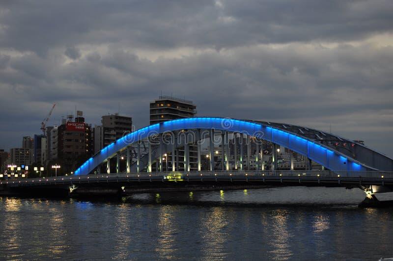 Download Night Bridge - Eitai Bashi Bridge Editorial Photo - Image: 23316006
