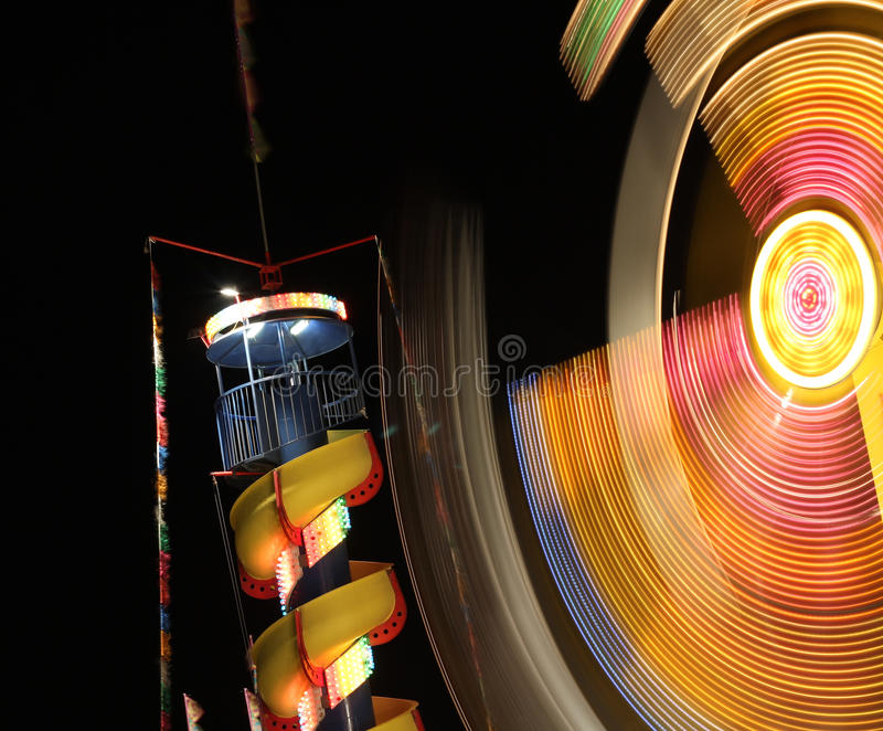 Night At The Carnival Royalty Free Stock Photo