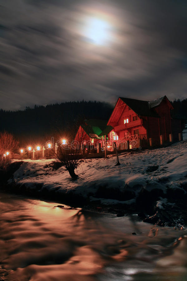 The Night Before Christmas royalty free stock images