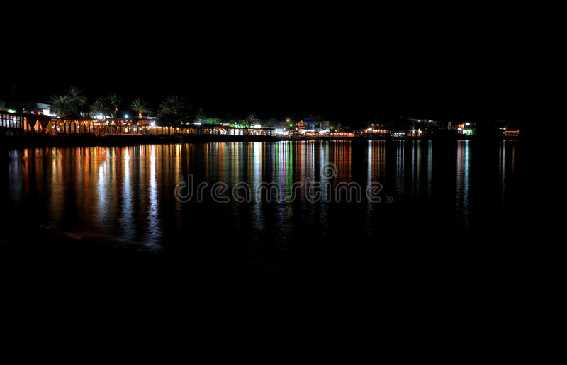 Download Night city stock image. Image of mirror, landscape, nature - 18643399