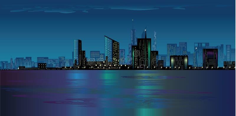 Download Night City Stock Image - Image: 21995481