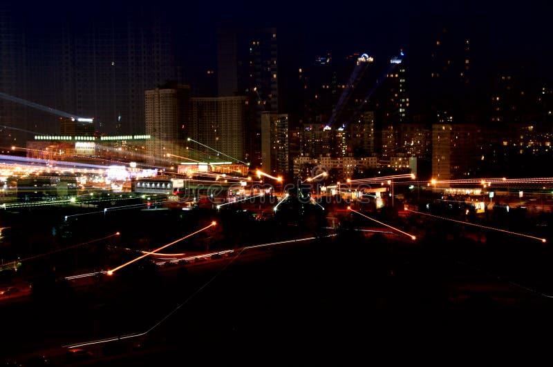 Download Night city stock photo. Image of lighting, highway, design - 2754236