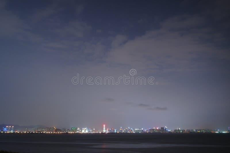 Night city view royalty free stock photo