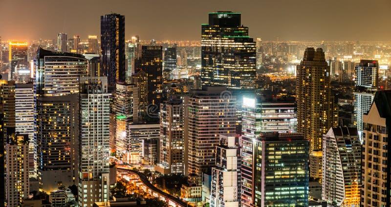 Night city view royalty free stock image