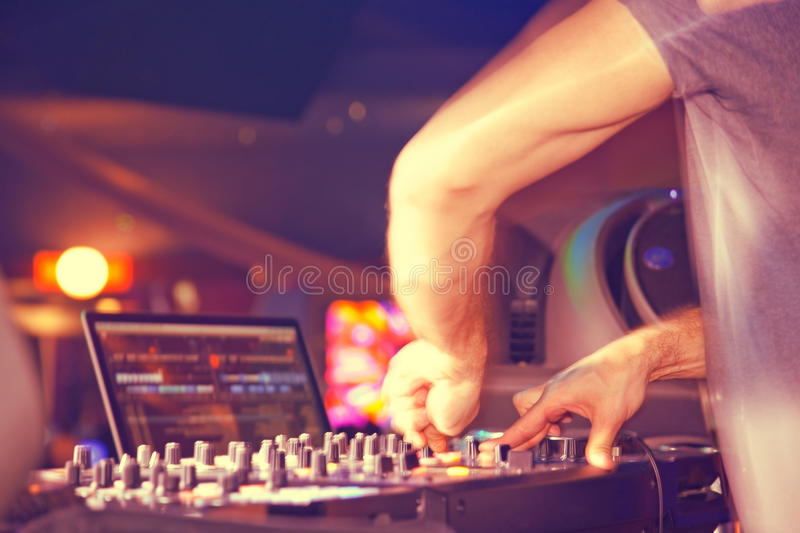 Download Night club stock image. Image of hand, mixing, audio - 29557173