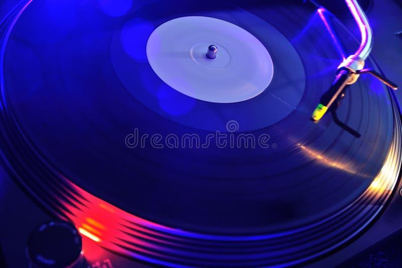 Download Night Club Life. Vinyl Player Stock Image - Image: 25839207