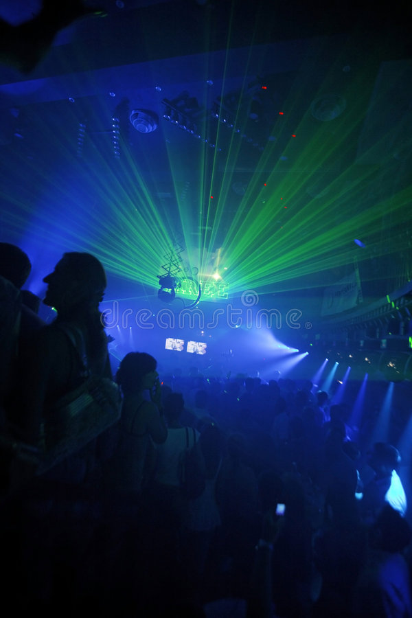 Night Club Party Background stock photography