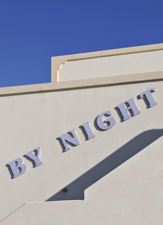 Night Club Sign Royalty Free Stock Photo