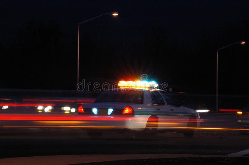 Download Night Cop stock image. Image of citation, night, wrecker - 24385987
