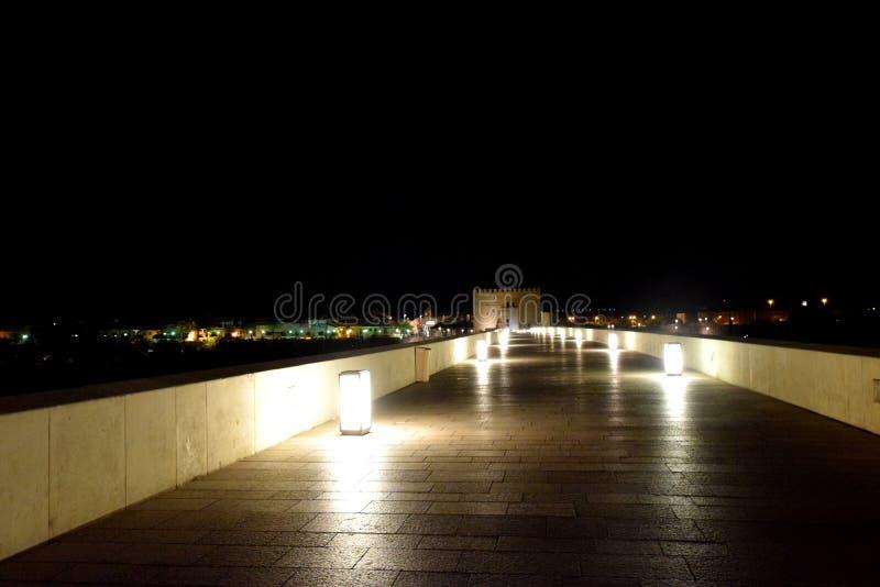 Cordoba. Night in Cordoba, Andalusia, Spain stock images
