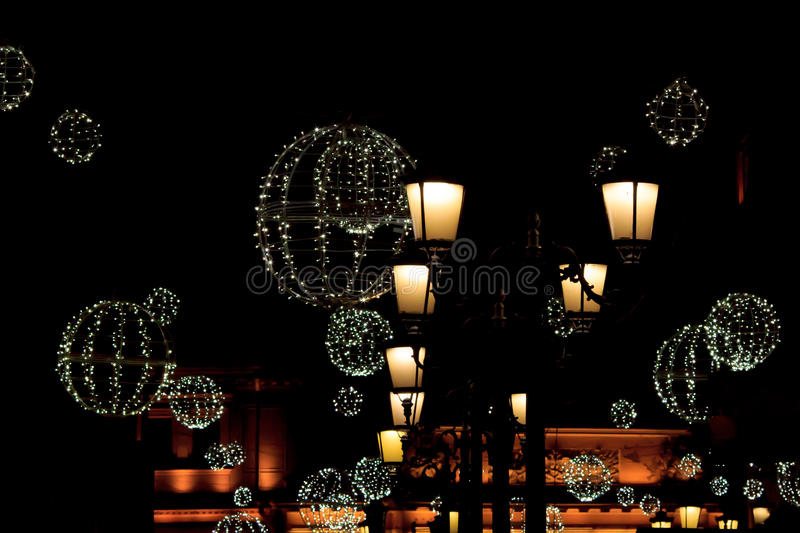 Night decoration royalty free stock images