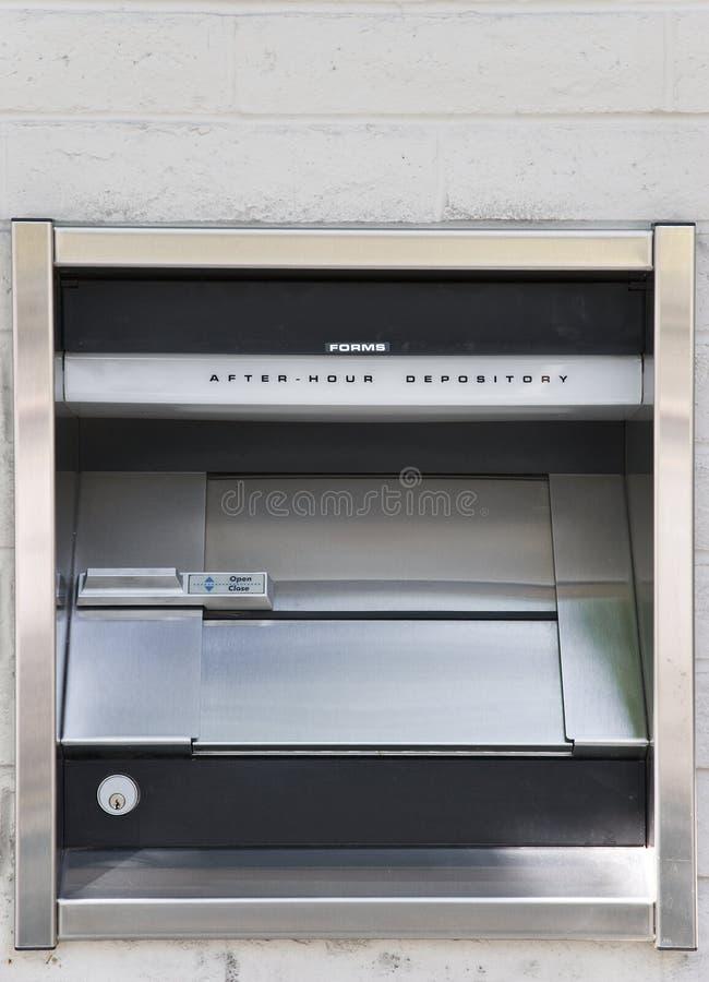 Free Night Deposit Box Royalty Free Stock Image - 9355436