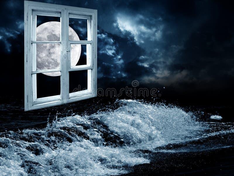 Night dream royalty free stock photo