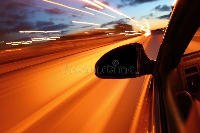 Night drive royalty free stock photos
