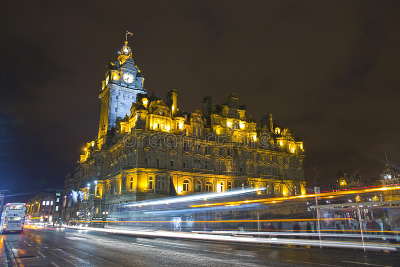 Night In Edinburgh Royalty Free Stock Photography