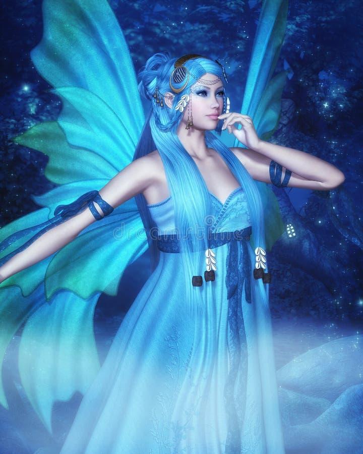 Night Fairy stock illustration
