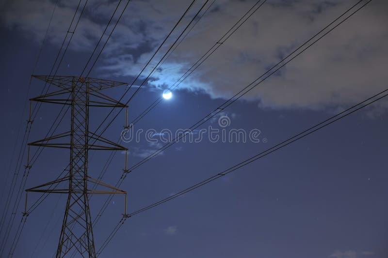 Night fall stock image