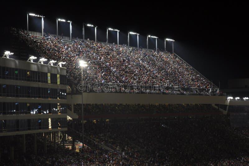 Night Fans stock photo
