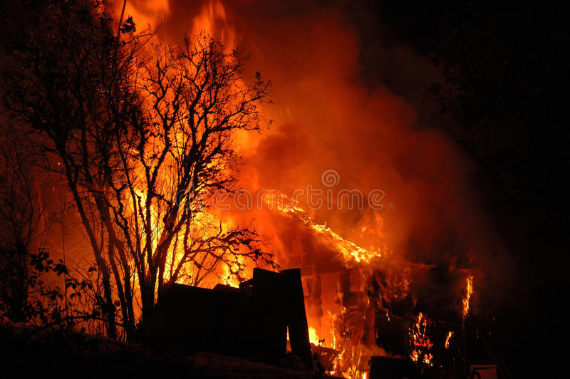 Download Night Fire stock photo. Image of dangerous, rage, fire - 26971528