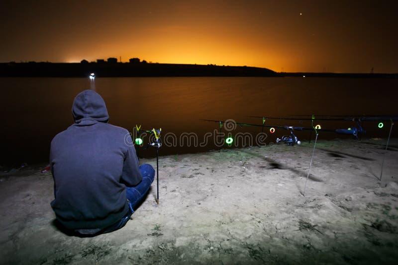 Download Night Fishing Royalty Free Stock Image - Image: 36918256
