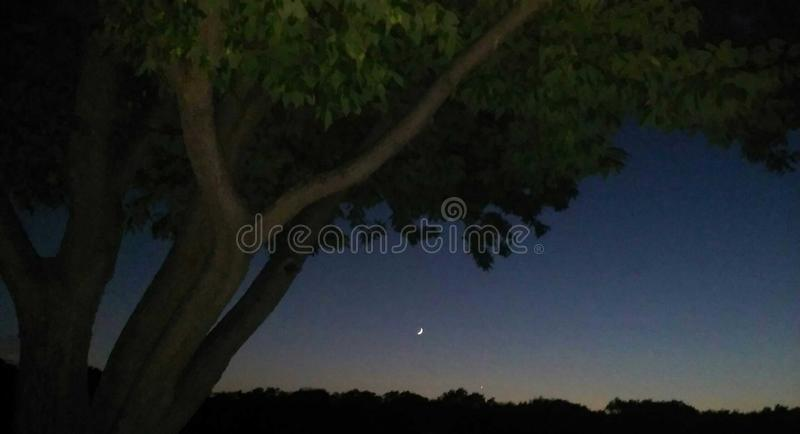 Night flash royalty free stock images