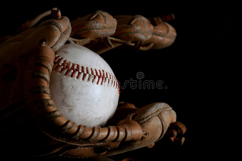 Download Night game stock image. Image of mitt, equipment, competition - 24329437
