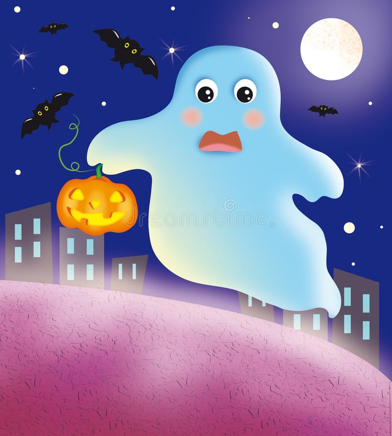Night of Halloween royalty free stock image