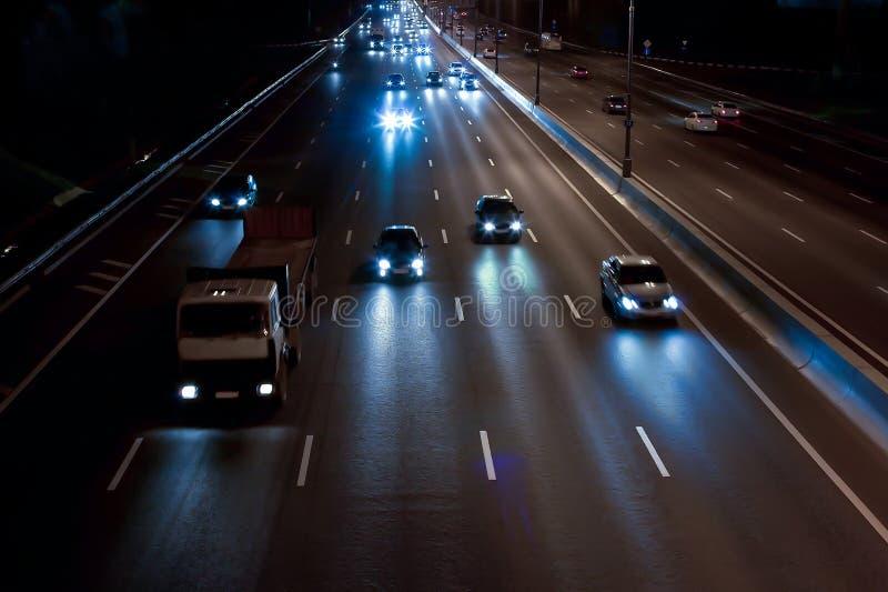 Download Night Highway Stock Photo - Image: 83712868