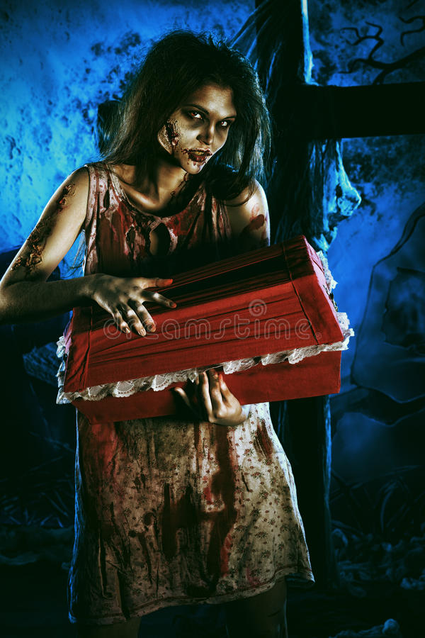 Download Night horror stock image. Image of dead, fantasy, furious - 27787011