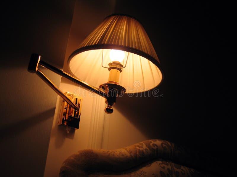 Night lamp royalty free stock photos