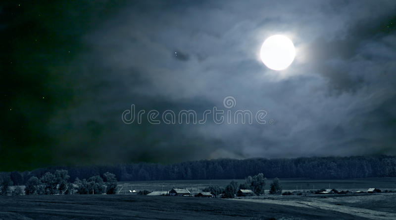 Download Night Landscape Royalty Free Stock Photo - Image: 13421105