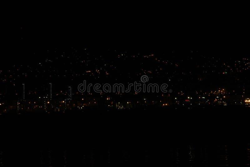 Night Landscape in Pontevedra royalty free stock photography