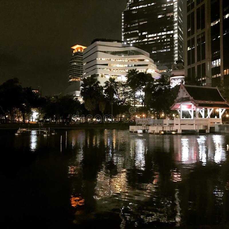 Night life. In big city stock photos