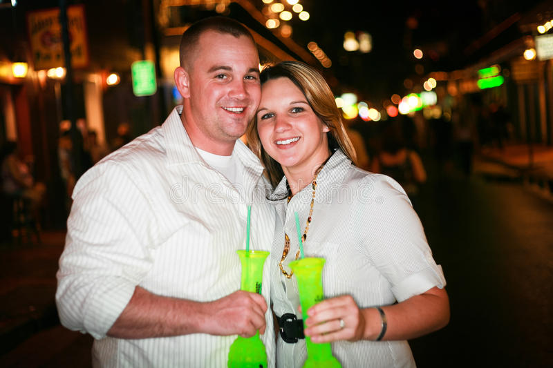 Night Life for a Couple royalty free stock images