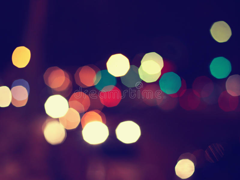 Night lights blurred background. Night lights blurred abstract city background stock photography