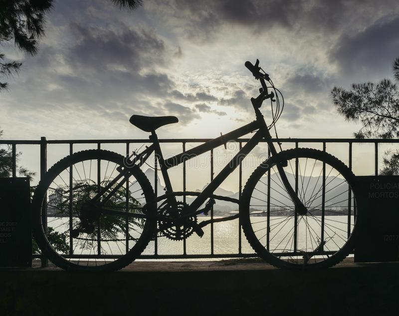 On the night of May 19th, 2015, Jaime Gold was murdered during an attempted theft of his bike. A memorial was set up by the munici stock photography