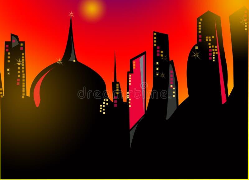 Night Megapolis Free Stock Images