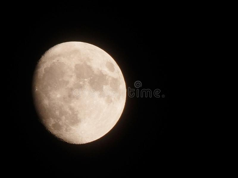 Download Night Moon stock illustration. Image of backdrop, glowing - 83717021