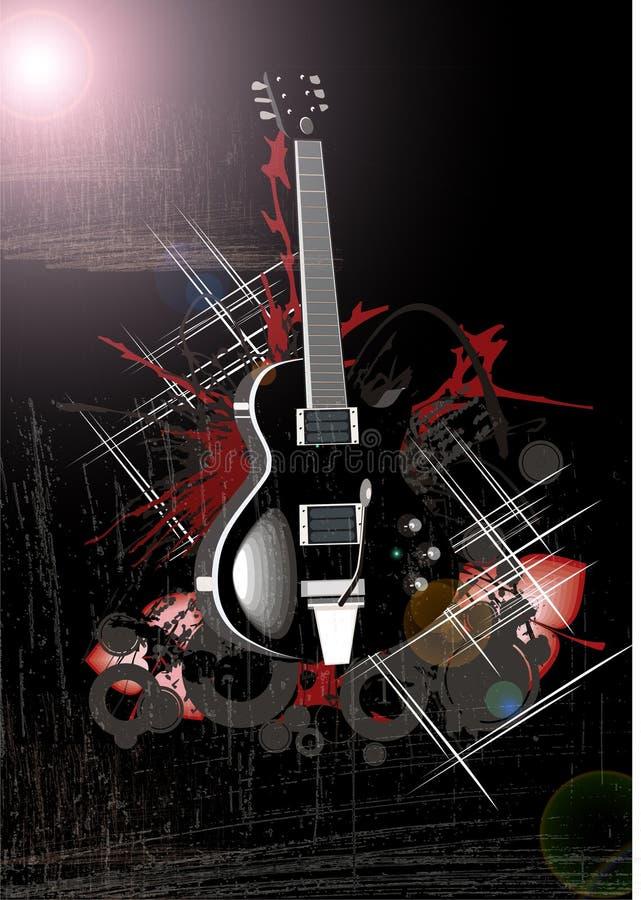 Free Night Moon Guitar Royalty Free Stock Photo - 5506675