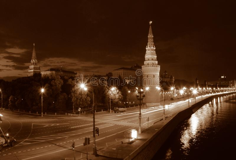 Night Moscow. Stock Image