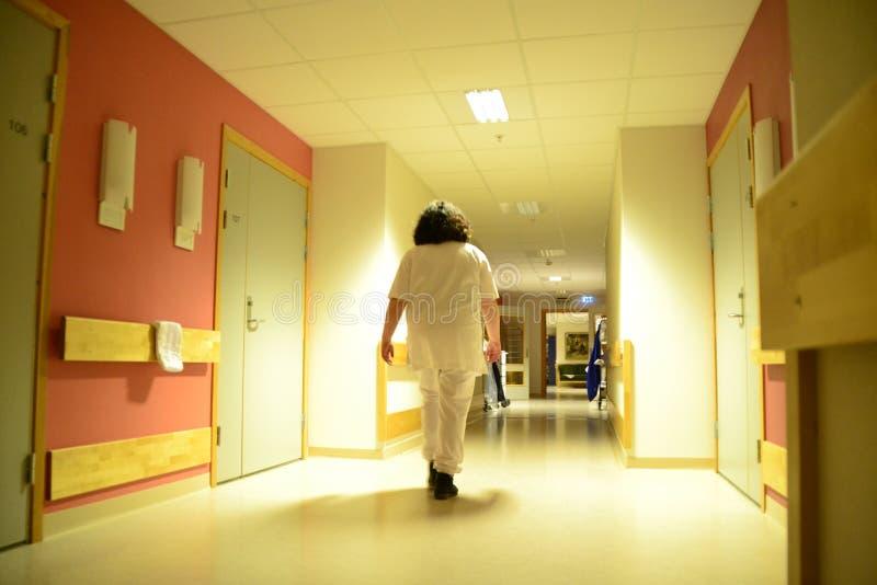 Night nurse royalty free stock images